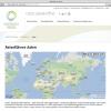 Natürlich Reisen Webseite Karte