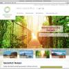 Natürlich Reisen Webseite Startseite