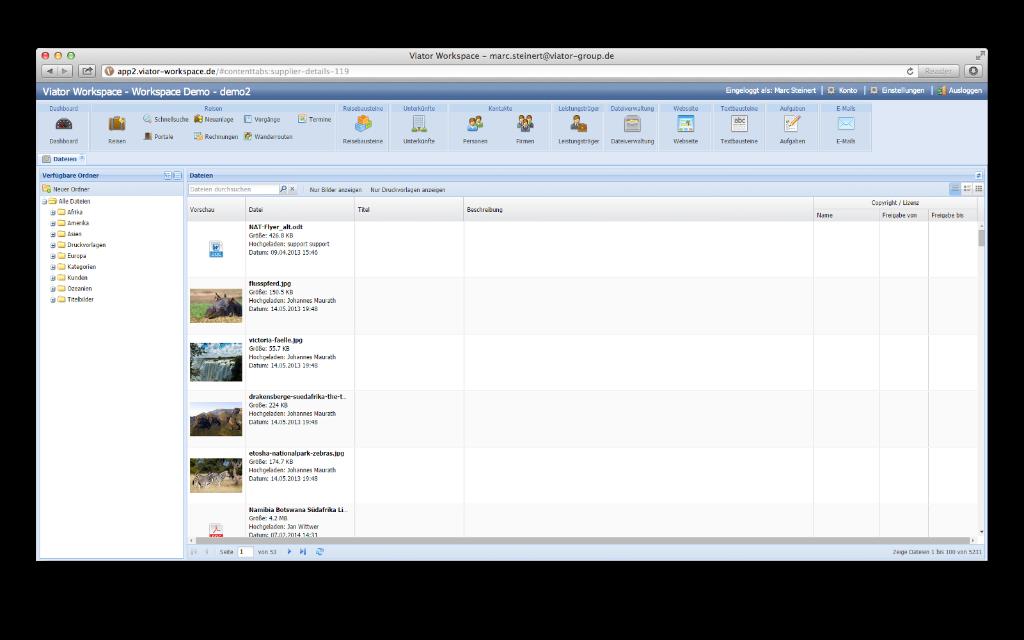 Dokumenten- und Dateiverwaltung Übersicht